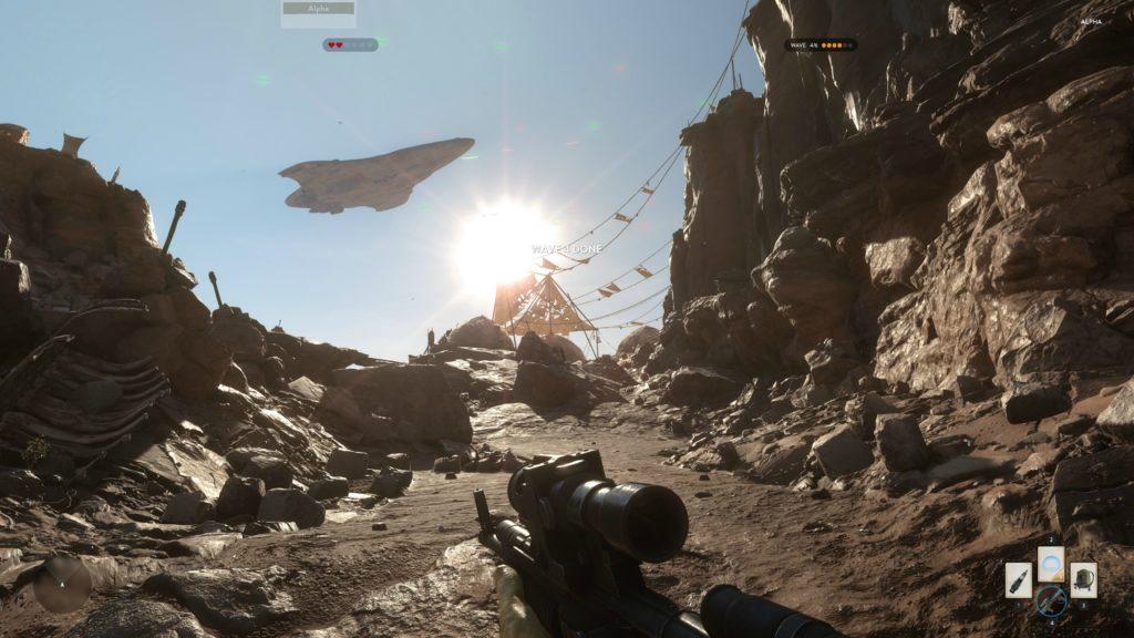 Star Wars Battlefront Alpha Tatooine 4K 12