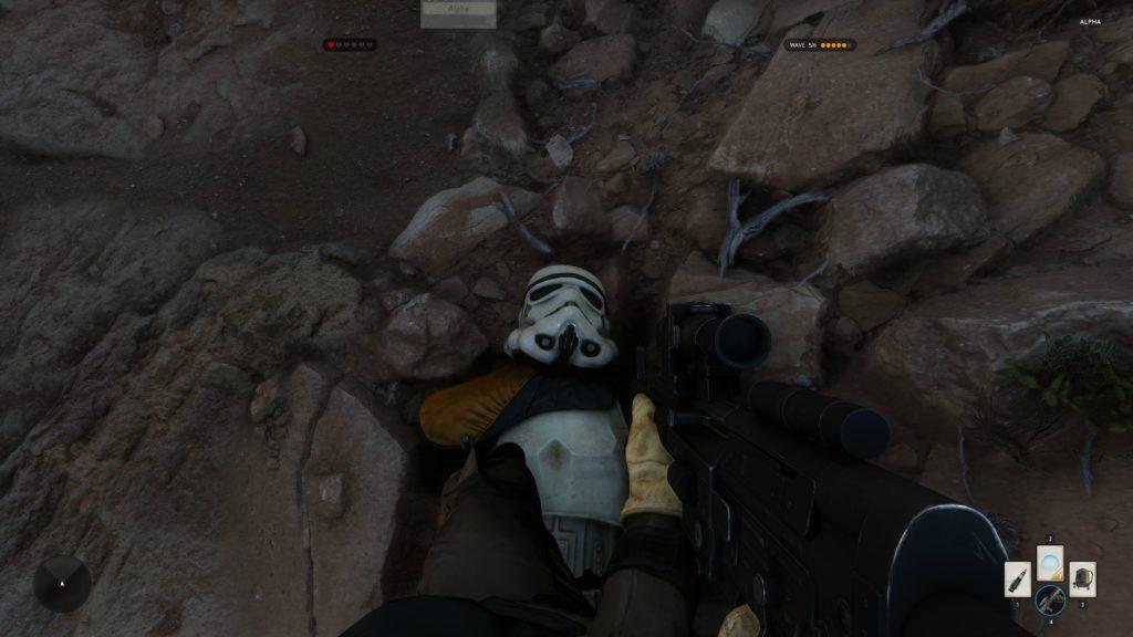 Star Wars Battlefront Alpha Tatooine 4K 4