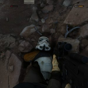 Star Wars Battlefront Alpha Tatooine 4K MANS GY