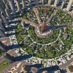 Cities-XL-New-Coast-City-main-circle-park