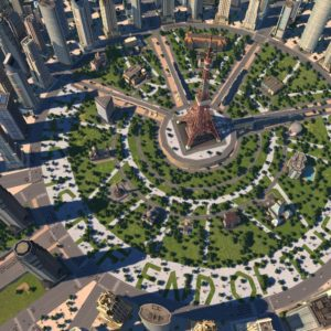 Cities-XL-New-Coast-City-main-circle-park