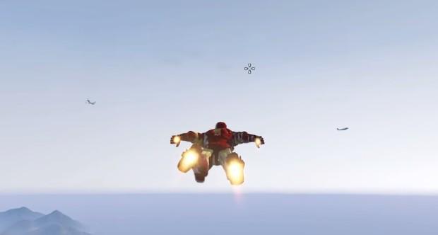 GTA V IRon Man Mod 1
