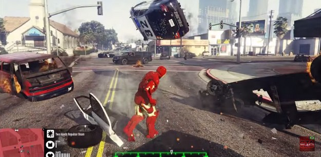GTA V Iron Man MOd 3
