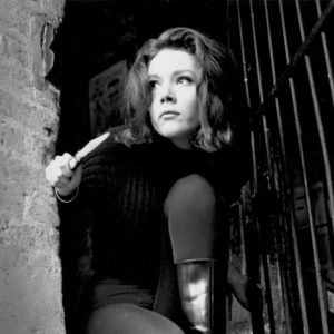 14th December 1964:  British actress Diana Rigg in her role as Emma Peel in the television series 'The Avengers'.  (Photo by Terry Disney/Express/Getty Images)