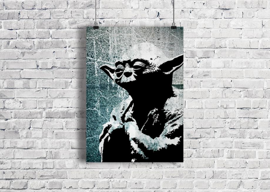 Star Wars - Yoda Poster