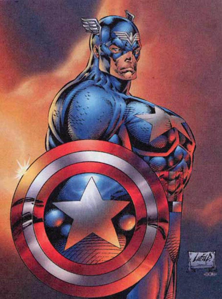 Liefeld Captain America