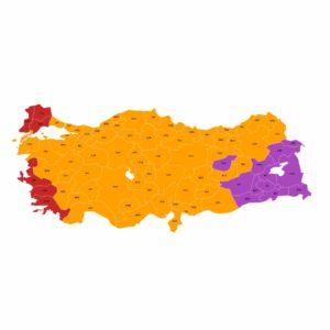 Türkiye Seçim Harita