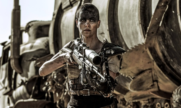 CHARLIZE THERON  Character(s): Imperator Furiosa  Film 'MAD MAX: FURY ROAD' (2015)  Directed By GEORGE MILLER  13 May 2015  SAM51136  Allstar/WARNER BROS.  **WARNING** This Photograph is for editorial use only and is the copyright of WARNER BROS.  and/or the Photographer assigned by the Film or Production Company & can only be reproduced by publications in conjunction with the promotion of the above Film. A Mandatory Credit To WARNER BROS. is required. The Photographer should also be credited when known. No commercial use can be granted without written authority from the Film Company.