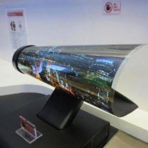 LG Kıvrılabilir Ekran