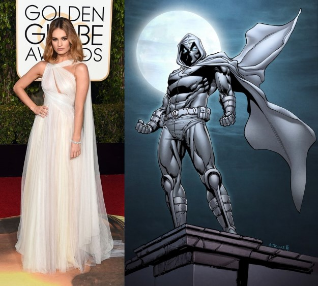 Lily James-  Moon Knight