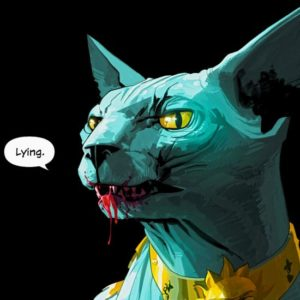Lying Cat