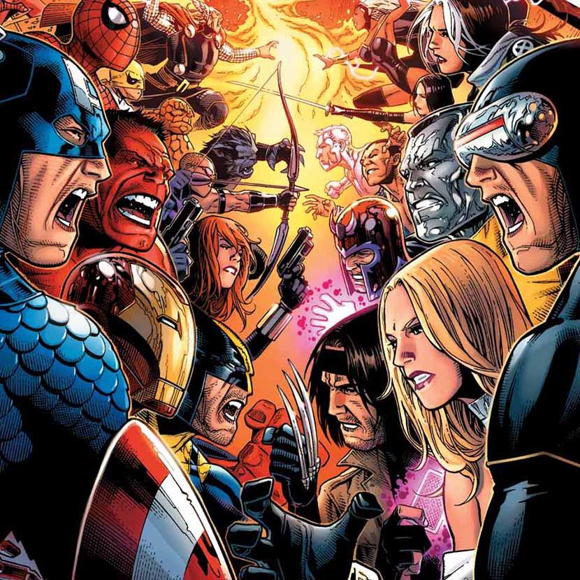 Marvel Okuma Sirasi Türkçe Basılmış Büyük Marvel Eventleri 2003