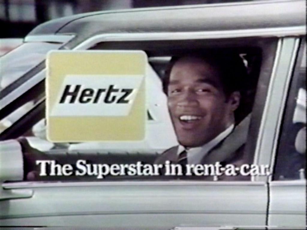 OJ Simpson Hertz