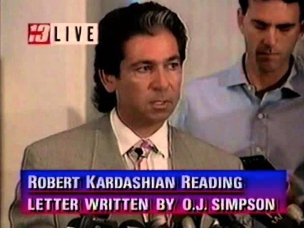 OJ Simpson Robert Kardashian