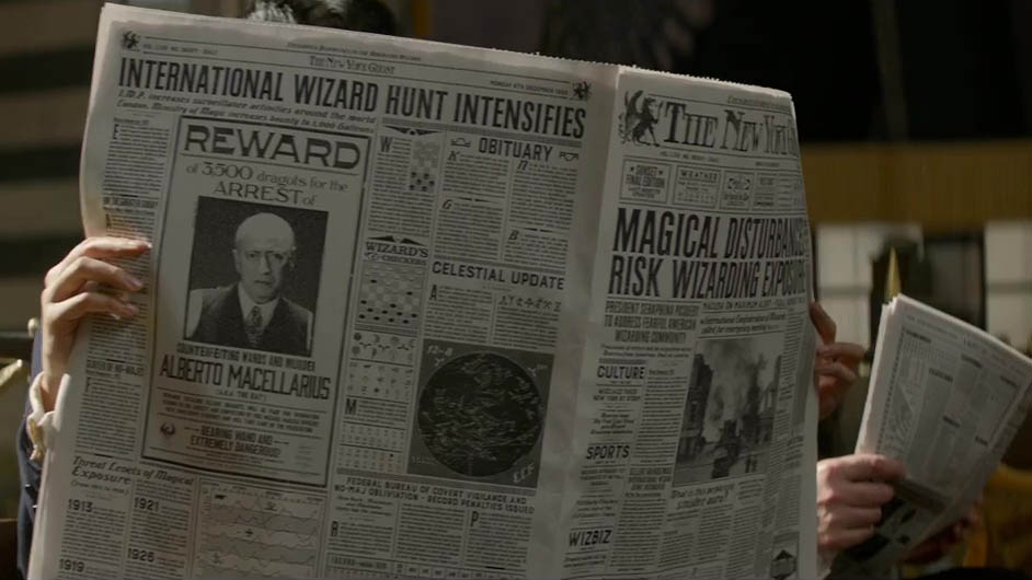 Fantastic Beasts and Where to Find Them (2)