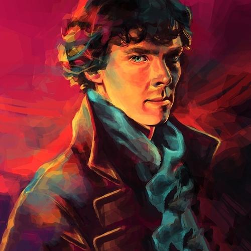 863483-alice-x-zhang-artwork-bbc-benedict-cumberbatch-men-paintings-pink-background-portraits-sherlock-bbc-sherlock-holmes