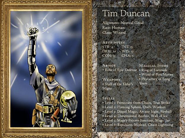 Tim Duncan 5