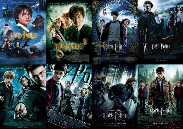 02 Harry Potter - 7.7 B$, 8 Film