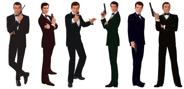 03 James Bond - 7.0 B$, 26 Film
