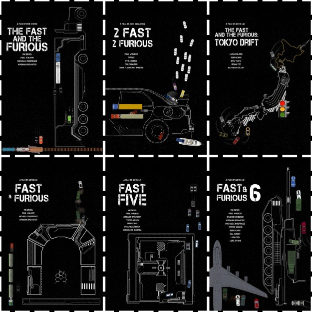 09 Furious - 3.8 B$, 7 Film