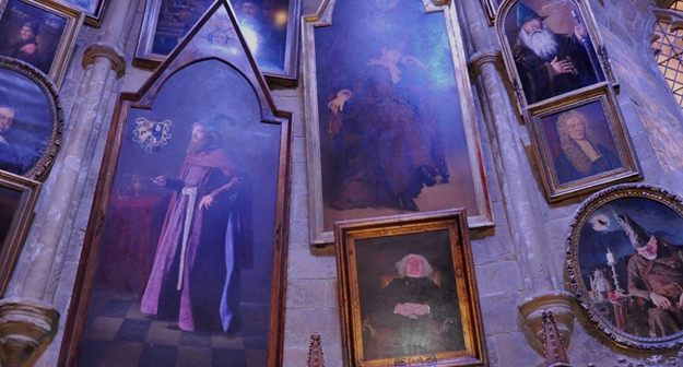 Portraits-previous-headmasters-of-hogwarts