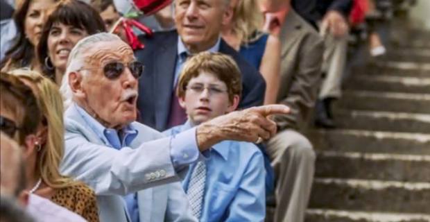 Stan Lee cameo sahnesi: The Amazing Spider-Man, 2014