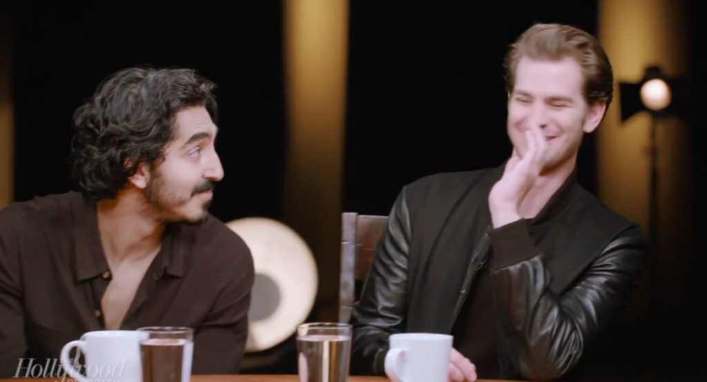 Andrew Garfield Dev Patel