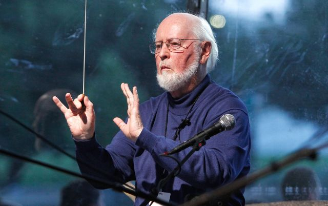 WASHINGTON, DC - JULY 03: Conductor John Williams debuts his new version of the The Star-Spangled Banner at PBS's 2014 A CAPITOL FOURTH rehearsals at U.S. Capitol, West Lawn on July 3, 2014 in Washington, DC.  (Photo by Paul Morigi/Getty Images for Capitol Concerts)