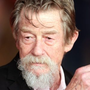 ROME, ITALY - NOVEMBER 08:  Actor John Hurt attends 'Snowpiercer' Premiere during The 8th Rome Film Festival at  Auditorium Parco Della Musica on November 8, 2013 in Rome, Italy.  (Photo by Franco Origlia/Getty Images)