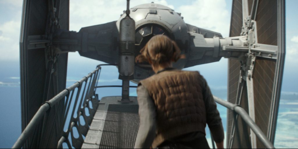 Jyn Erso Tie Fighter