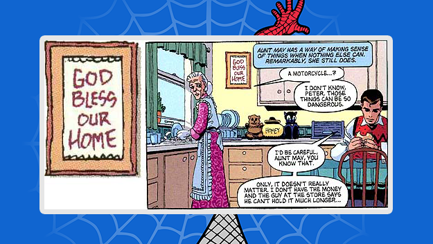 Spider Man Aunt May