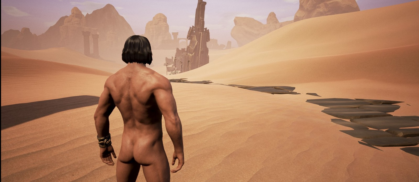 Nude artwork in pc conan game sex image