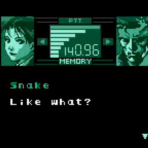 Metal Gear Solid Codec
