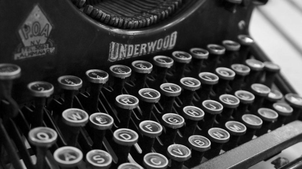 01 Typewriter