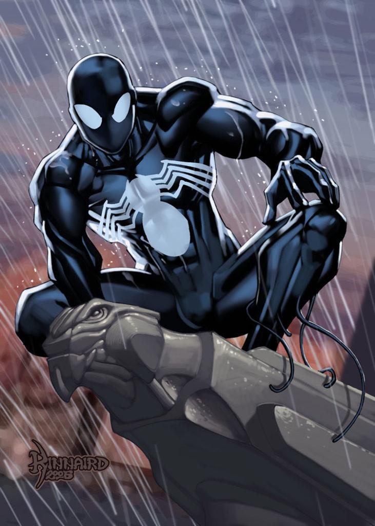 09 Symbiote Spider-Man