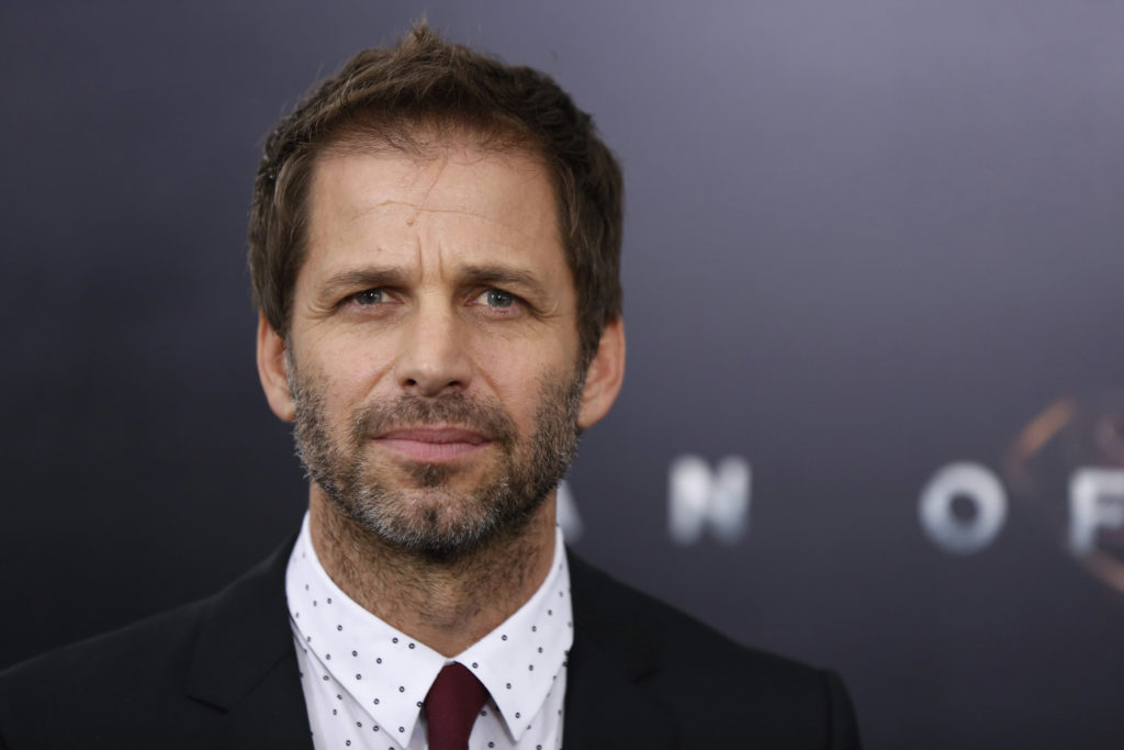 "Director Snyder arrives for the world premiere of the film ""Man of Steel"" in New York"