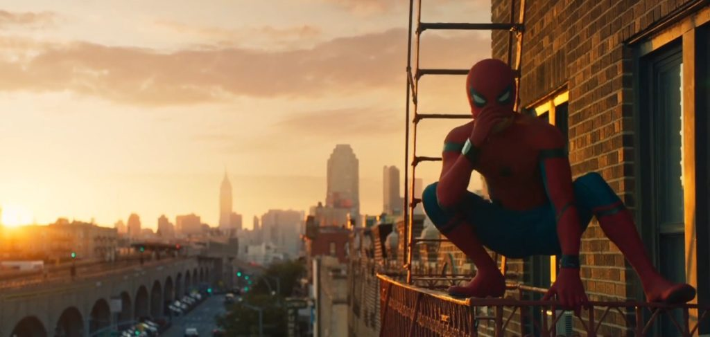 Spider-Man Homecoming New York