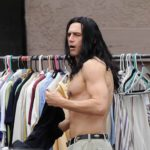 "Actor James Franco shows off his incredible ripped abs while filming a scene for his upcoming flick ""The Disaster Artist"" filming in Hollywood Ca. Co star and Producer Seth Rogen was also spotted on set but was behind the camera for todays scene.  Featuring: James Franco Where: Hollywood, California, United States When: 10 Dec 2015 Credit: Cousart/JFXimages/WENN.com"