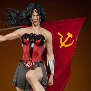 Wonder Woman Commie