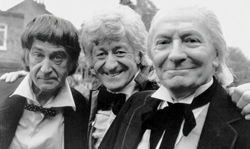 the three doctors promo shot