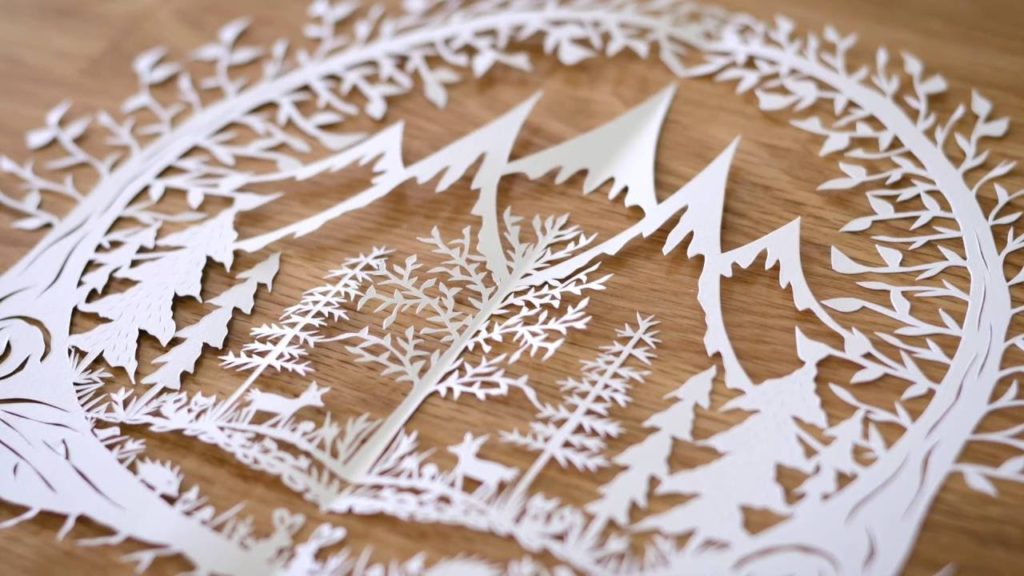 İCAF Paper Cutting