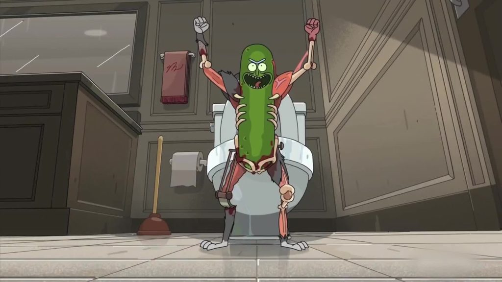 10 Pickle rick
