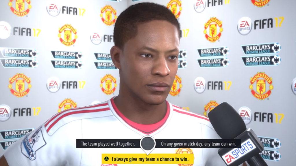 FIFA 17 Journey