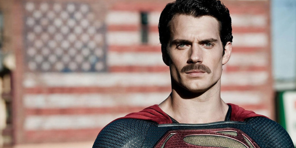 Henry-Cavill-as-Superman-With-A-Mustache