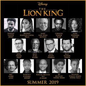 Lion King cast