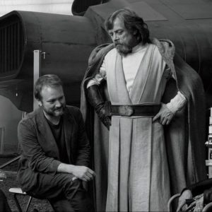 Rian Johnson The Last Jedi Set