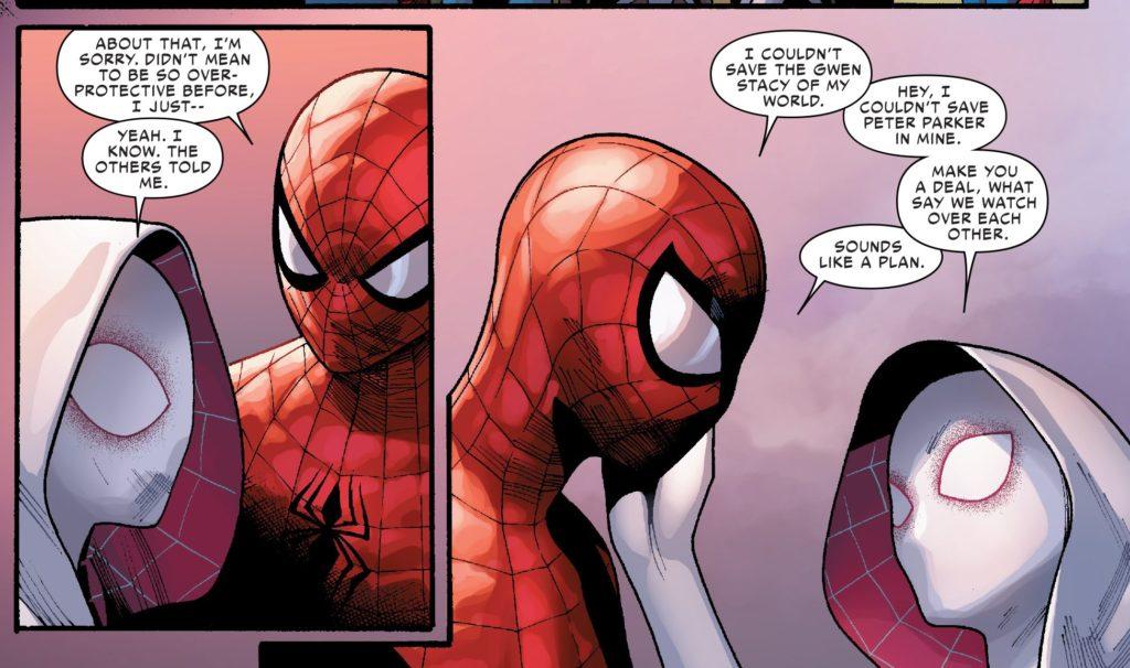 Spider-Verse Spider-Gwen