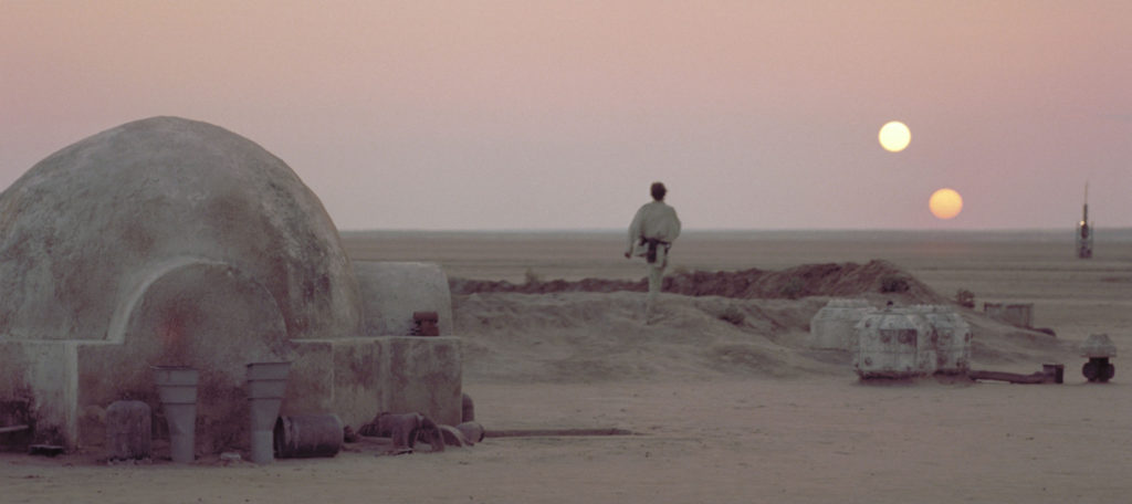 Tatooine Binary Sunset