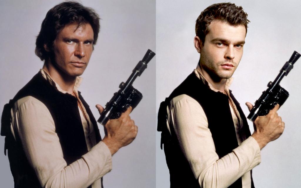 Han Solo Ford Ehrenreich