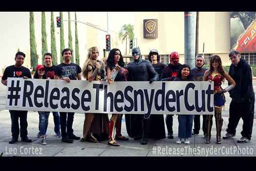 Snyder Cut Protest